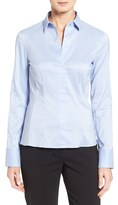 BOSS Women's 'Bashina' Stretch Poplin Shirt