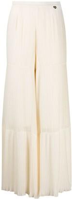 Twin-Set Pleated Wide Leg Trousers