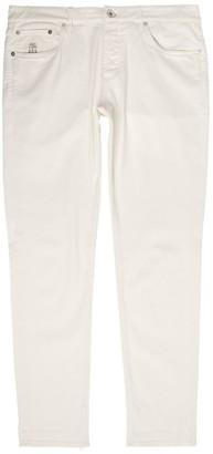Brunello Cucinelli Slim Cotton Jeans