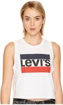 Levi's(r) Premium Levi's Premium - Premium Graphic Crop Tank Top Women's Clothing