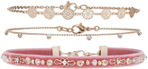 Accessorize Embellished Pretty Choker Necklace Pack