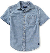 Ralph Lauren Little Boys 4-7 Chambray Short-Sleeve Shirt