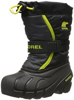 Sorel Youth Flurry B Chartreu Cold Weather Boot (Toddler/Little Kid/Big Kid)