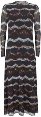 Mint Velvet Camille Tie Dye Midi Dress