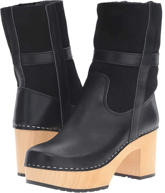 Swedish Hasbeens Hippie Low Women's Pull-on Boots