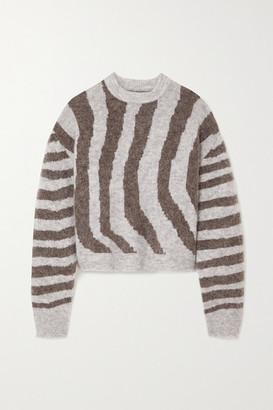 REMAIN Birger Christensen Cami Striped Knitted Sweater
