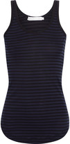 Kain Label Alta striped cotton-jersey tank