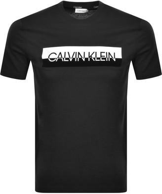 Calvin Klein Logo T Shirt Black