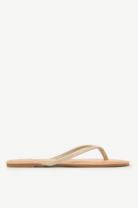 Ardene Basic Faux Leather Flip-Flops