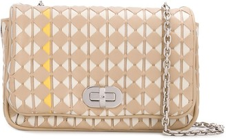 SERAPIAN Mosaico geometric crossbody bag