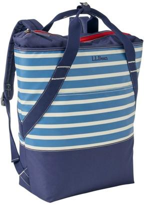 L.L. Bean Insulated Backpack, Print