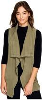 Splendid Drape Front Vest Women's Vest