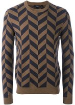 Theory chevron effect jumper