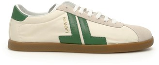 Lanvin Jl Leather Sneakers