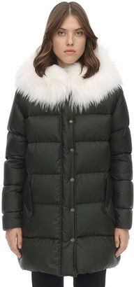 Mr & Mrs Italy Mr&Mrs Italy LIGHT MICROFIBER A-LINE PUFFER COAT