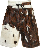Vivienne Westwood Man - cow skin shorts - men - Calf Leather - 50