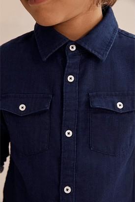 Country Road Indigo Double Faced Shirt