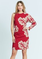 Karen Zambos Coral Emma Dress