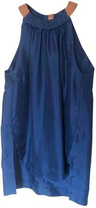 Cavallini Erika Blue Silk Top for Women