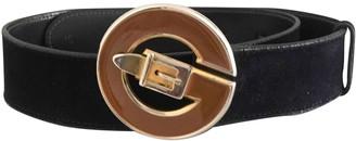 Gucci Blue Suede Belts