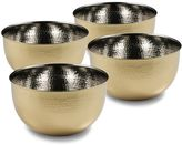 Cambridge Silversmiths 4-pc. Hammered Gold 3.5-in. Mixing Bowl Set