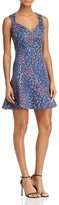 French Connection Frances Berry Print Dress