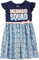Epic Threads Mermaid Squad Dress, Little Girls, Created for Macy's