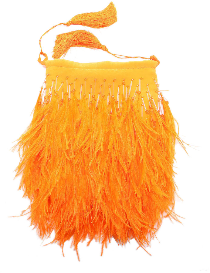 ATTICO The Feathers Pouch