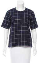 Kule Plaid Short Sleeve Top w/ Tags