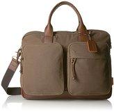 Fossil Men's Defender Double Zip Workbag