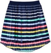Tommy Hilfiger Hi-Low Pleated Chiffon Skirt, Big Girls (7-16)