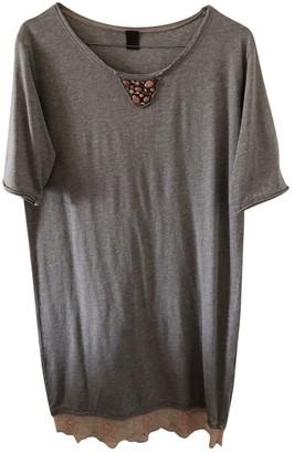 Jijil Grey Cotton Dress for Women