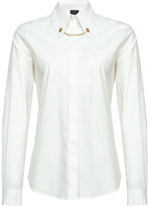 Pinko Chain-Detail Shirt