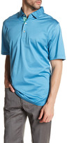 Peter Millar Solid Short Sleeve Polo