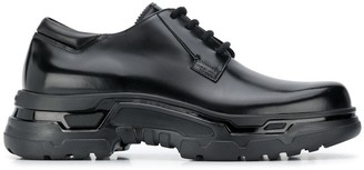 Giorgio Armani Lace-Up Chunky Sole Shoes