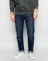 Levis Levi's Jeans 522 Slim Tapered Fit Littlefield Dark Worn Wash