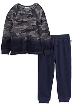 Splendid Boys' Dip Dye Camouflage Pullover & Jogger Pants Set - Little Kid