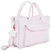 Mayoral Pink Stripe Quilt Changing Bag
