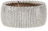 ZYDO Stretch Wide 18K Gold & Diamond Cuff Bracelet