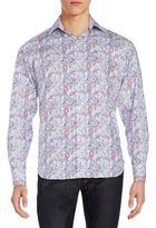 Tailorbyrd Printed Cotton Sportshirt