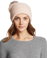 UGG Cuff Hat with Pom-Pom