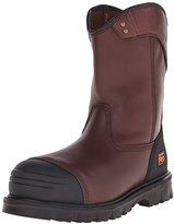 Timberland Men's Caprock Alloy-Toe Wellington Work Boot