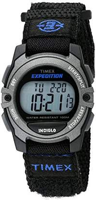 Timex Unisex TW4B02400 Expedition Mid-Size Digital CAT Fast Wrap Strap Watch