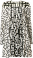 Valentino double graphic printed dress