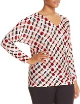 Marina Rinaldi Alba Graphic Print Sweater