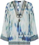 Hale Bob Tie-Dye Silk Tunic