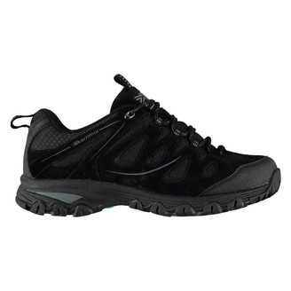Karrimor Womens Summit Walking Shoes Non Waterproof Lace Up Breathable Suede Black UK 4 (37)