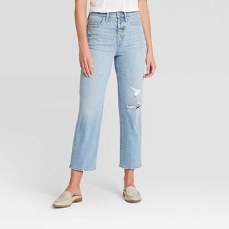 Universal Thread Women's High-Rise Vintage Straight Jeans - Universal ThreadTM Light Wash