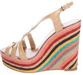 Kate Spade Multicolor Espadrille Wedges