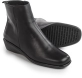 Italian Shoemaker talian Shoemakers Wedge Ankle Boots - Leather (For Women)